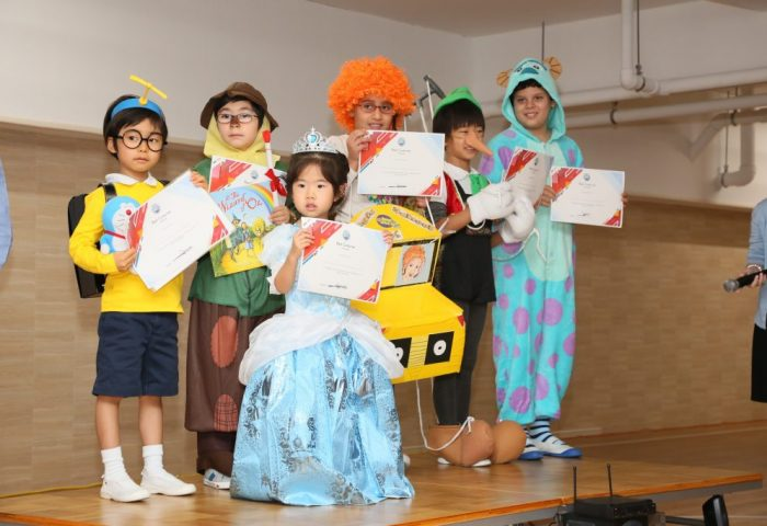 Costume Parade at Shinagawa International School in 2018-2019