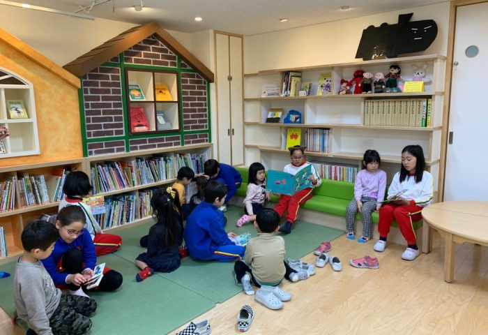 Ehon Hoikuen and Shinagawa International School Exchange Activity