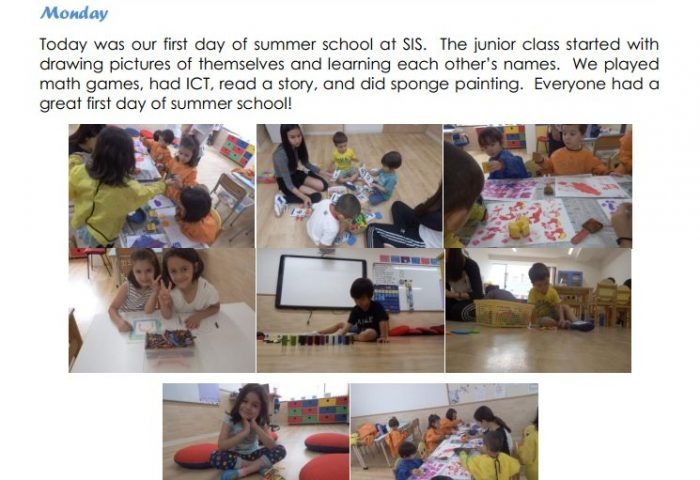 Summer school Junior-week-1