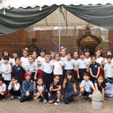 Ehon Hoikuen and Shinagawa International School Exchange Activity