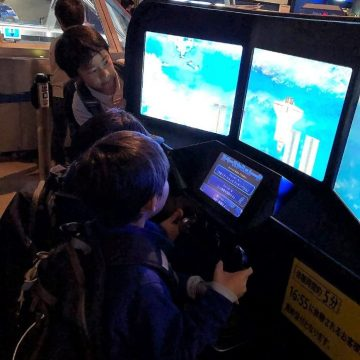 Grade 1 students Field Trip to Hamagin Space Science Center