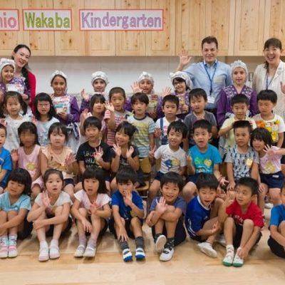 Ehon Hoikuen and Shinagawa International School Exchange Activities