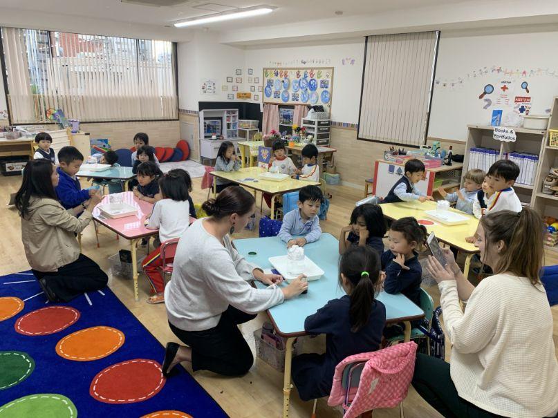 Kindergarten classroom from the school facilities