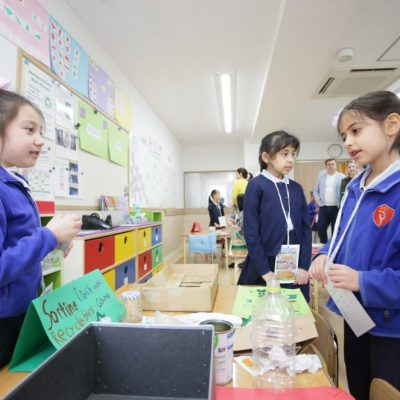 Celebration of Learning celebration in Shinagawa International School
