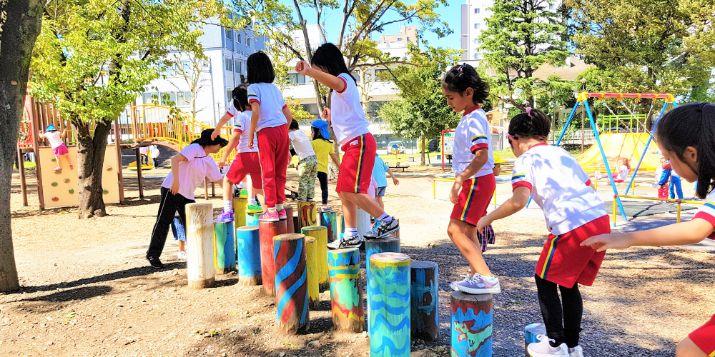 Recess Time at Samezu Athletic Park
