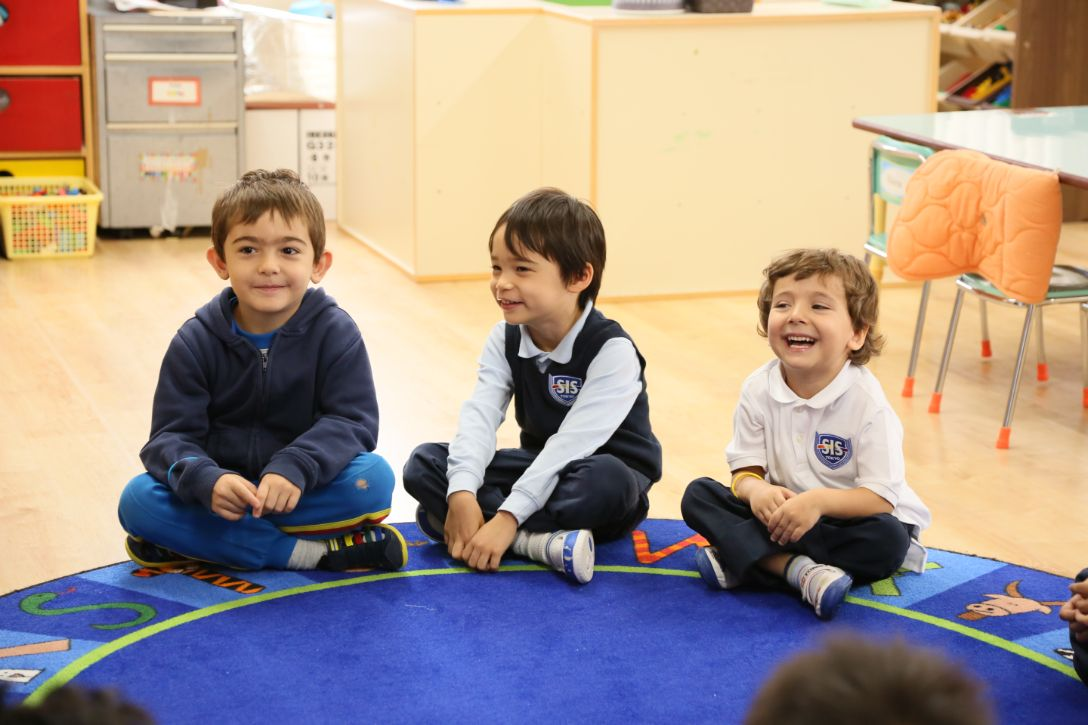 Early years Shinagawa International School Students