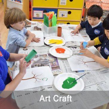 Art Craft club from Shinagawa International School