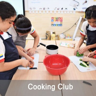 Cooking Club in Shinagawa International School