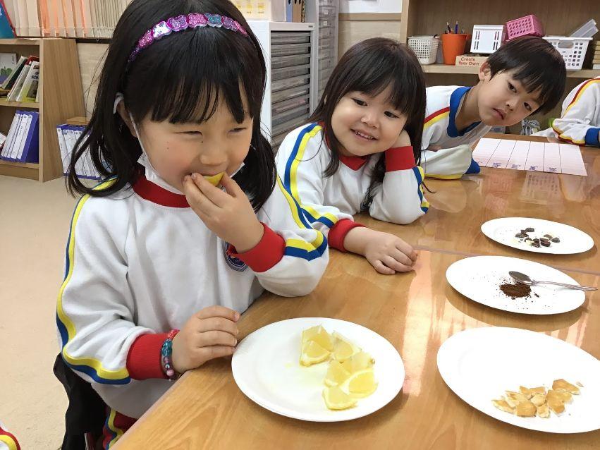 Pre-K students who eat fruits at SIS