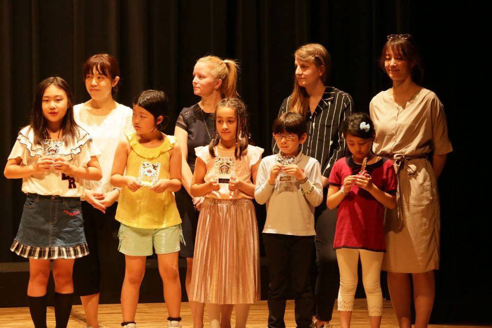 Shinagawa International School Year End Performance School Awards