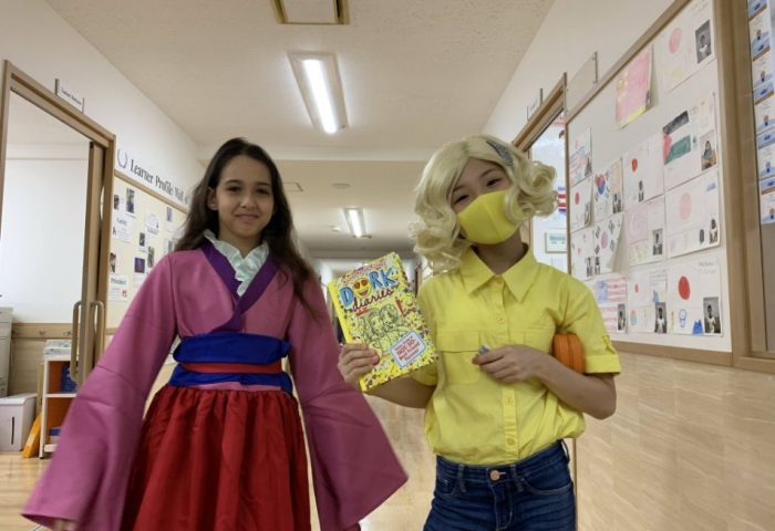 Book Character Dress Up Day with primary years in literacy week