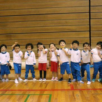 Shinagawa International School Pre-K students at Konami