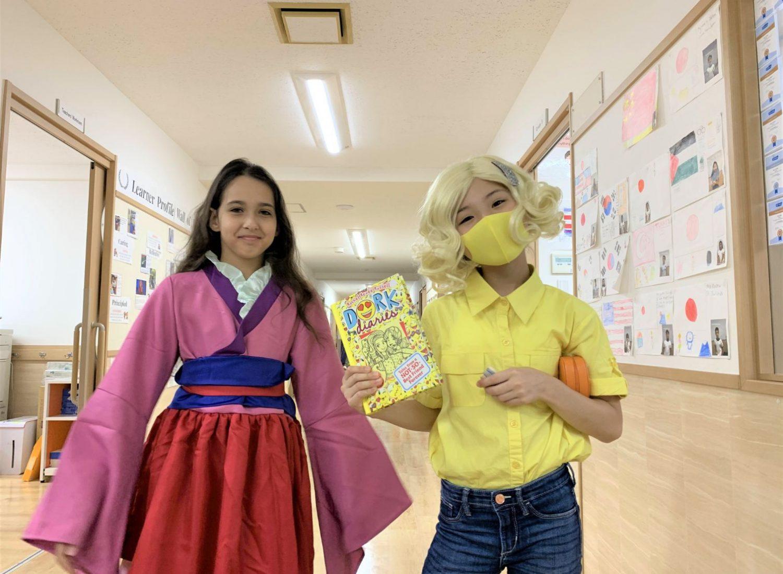literacy week 2020-2021 in Shinagawa International School
