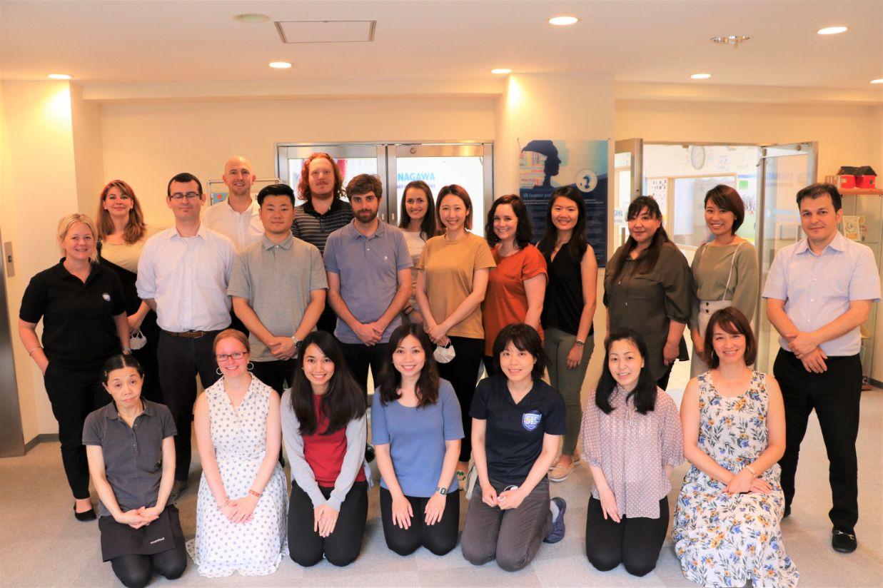 All Teachers and staff at Shinagawa International School