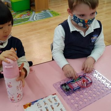 Robbo Robotics taught early years how to code and program a controller and robot using sensors in STEM Week 2021