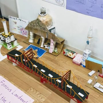 An Exhibition is in celebration of learning