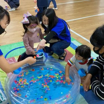 Other Games and Activities with early years students in International Children's Day 2021