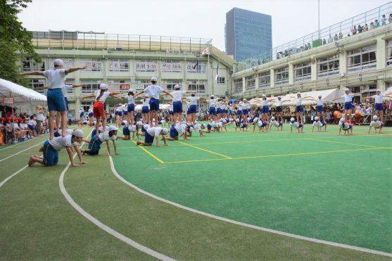 Sports Day at Jingumae Public Elementary School