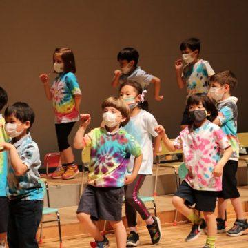 kindergarten performance show