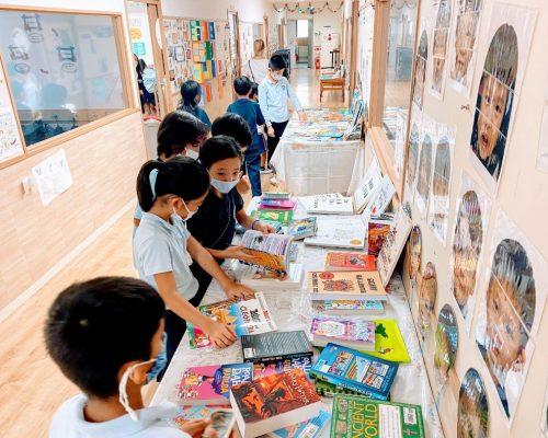 Book fair in literacy week 2021