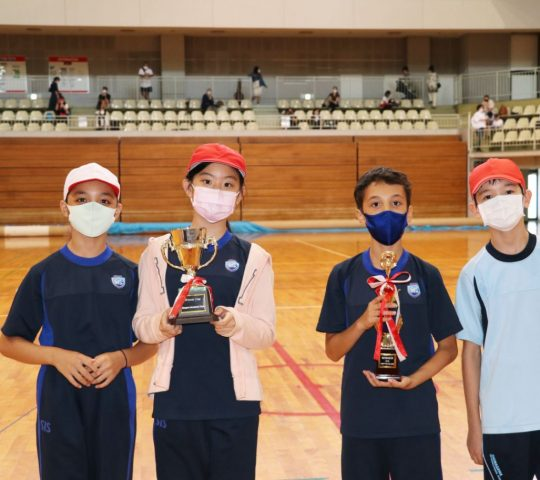 Award ceremony end of Sports Day 2021
