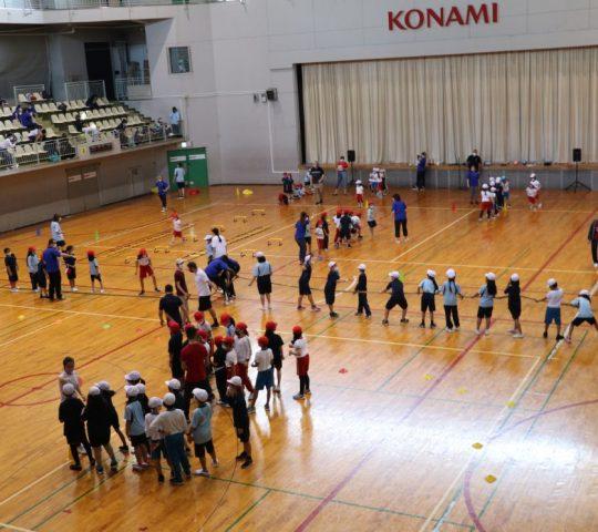 All SIS Students at Konami
