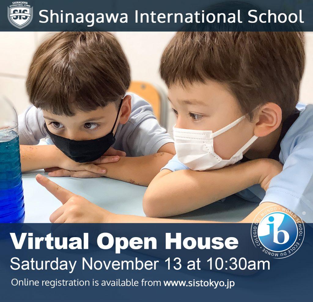 Shinagawa International School Virtual Open House